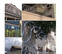Fotos para Cercas para proteção de muros residencias