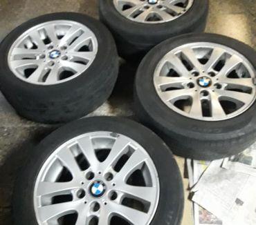 Fotos de 4 llantas con neumáticos magnesio BMW linea 300 modelo E-90