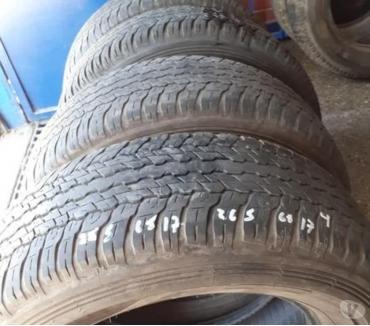 Fotos de 4 Neumáticos Dunlop Grandtrek AT 265-65-R17 impecables.