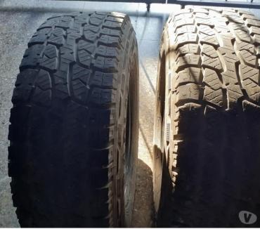 Fotos de 4 neumáticos 245-75-16 -AT Goodride impecables.