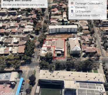 Fotos de Muy buen lote de 1000 m2 en calle Simon Bolívar-Ñuñoa