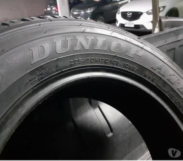 Fotos de 5 neumáticos Dunlop nuevos 225-70-R-17 AT llegar he instalar