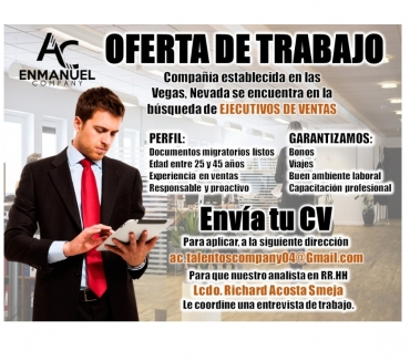 Fotos de VACANTES DE EMPLEOS DISPONIBLE