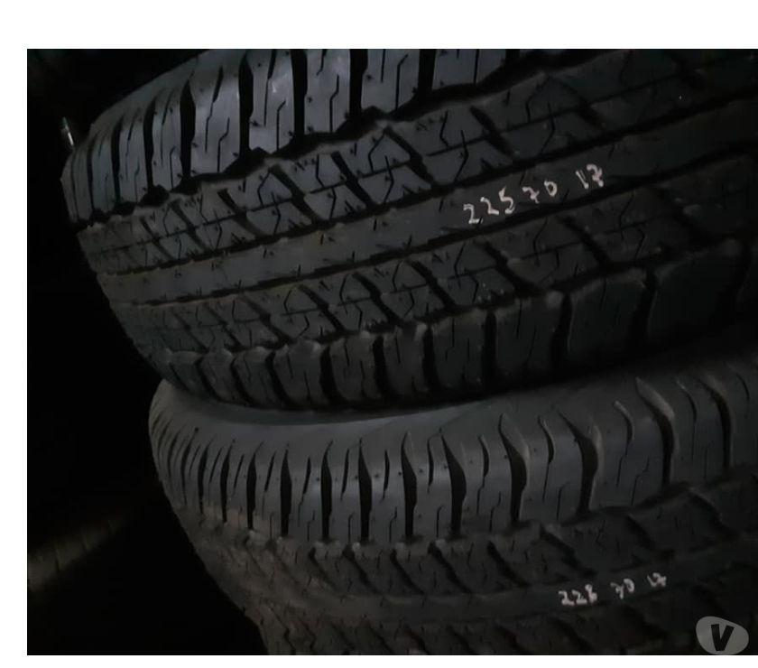 Accesorios para Autos Santiago Santiago - Fotos de 9 neumáticos nuevos Dunlop 225-70-R-17 AT