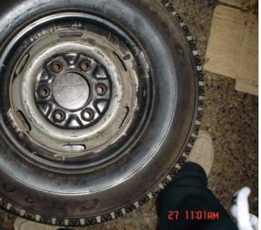 Fotos de vendo neumático con llanta nuevo, firestones 195-R-14,