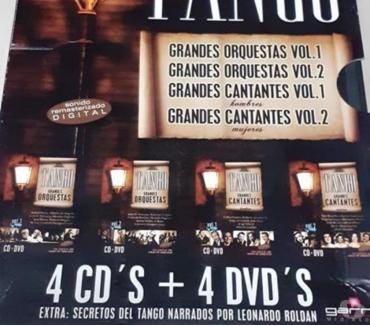 Fotos de Gran Colección exclusiva tangos 4 CD + 4 DVD Grandes Tangos