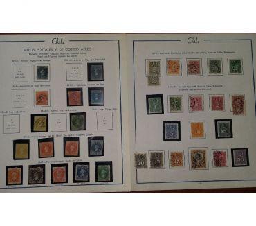 Fotos de Colección de Estampillas de Chile Nuevas Mint MNH en Oferta!