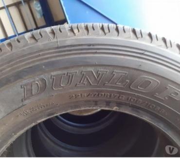 Fotos de 5 neumáticos Dunlop Dueler 225-70-R17 AT, están impecables.