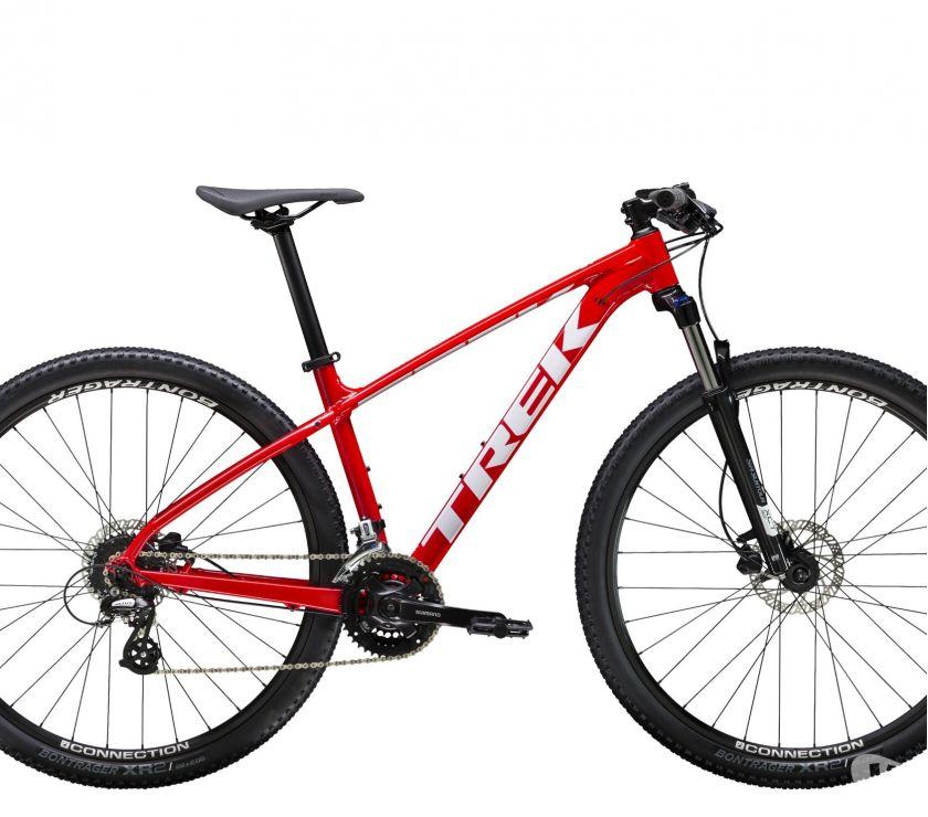Fotos de Bicicleta MTB Trek Marlin 6 Roja 2019 TREK