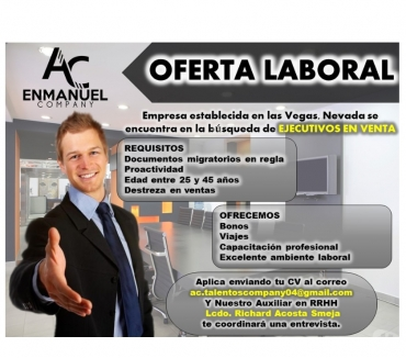Fotos de OFERTA DE EMPLEO DISPONIBLE