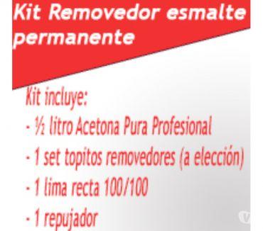 Fotos de KIT REMOVEDOR DE ESMALTADO PERMANENTE
