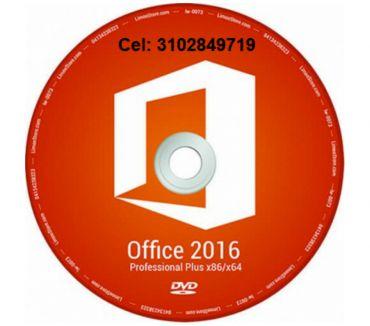Fotos de DVD Office 2016 profesional, envió gratis.