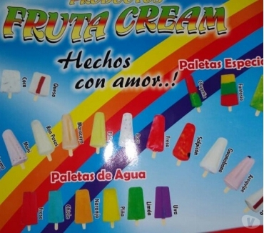Fotos de Distribuidora fruta cream