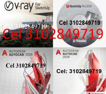 Fotos de Adjunto, AutoCAD, CorelDRAW, SketchUp, V-Ray SketchUp.