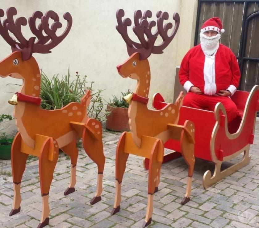 Organizador de Eventos Chía - Fotos de Venta Trineo de papa Noel y sus renos