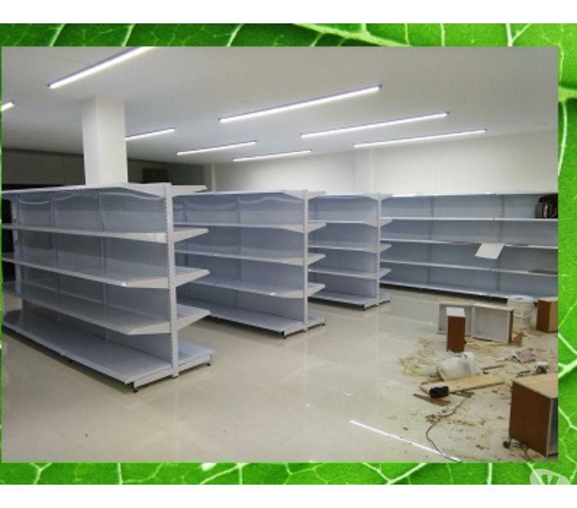 Fotos de estanterias metalicas para supermercados gondola y tradicion