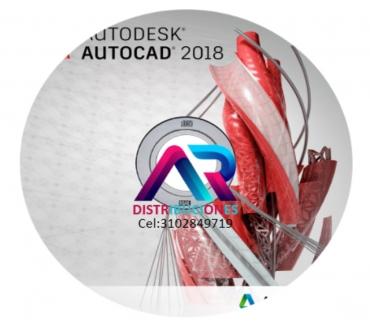 Fotos de AutoCAD 2018, envió gratis.