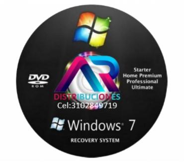 Fotos de DVD Windows 7 de 32 y 64 Bits, envió Gratis.