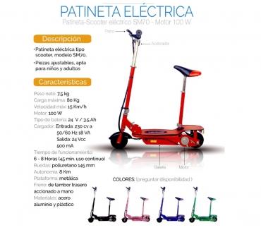 Fotos de PATINETA ELECTRICA CON SILLA REMOVIBLE WHAPP 3107071502