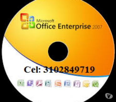 Fotos de DVD Office 2007 con seriales de activación, envió gratis.