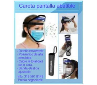 Fotos de Protector Facial Careta