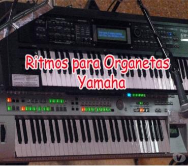 Fotos de Ritmos para Organetas Yamaha