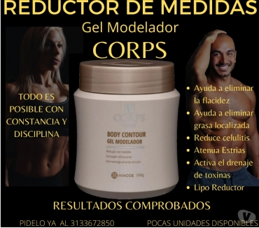 Fotos de #GEL CORPS REDUCTOR HND 500 GR