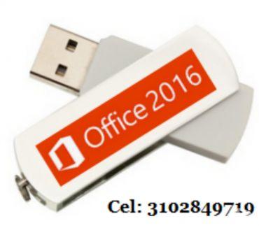 Fotos de USB Office 2016 profesional de 32 y 64 bis de 8 gigas.