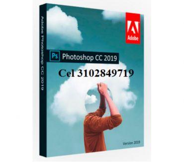 Fotos de Photoshop cc 2019 en español, dvd o usb de 8 gigas envió gra