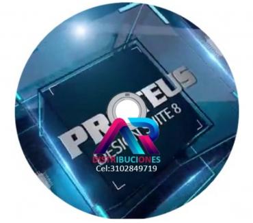 Fotos de Proteus Profesional 8, envió gratis.