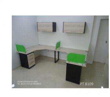 Fotos de *ESTACIONES DE TRABAJO * MODULOS CALL CENTER* MUEBLES OFICIN