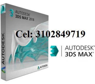 Fotos de 3DS máx. 2018, DVD o USB de 8 gigas envió gratis.