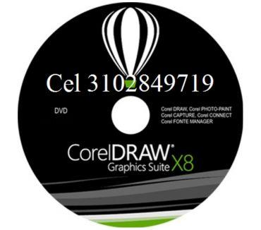 Fotos de Dvd o usb de 8 gigas coreldraw x8, envió gratis.