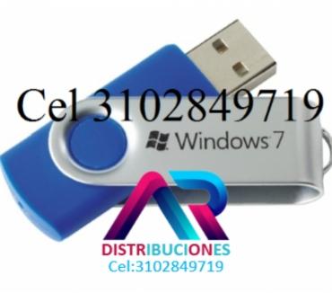 Fotos de USB Windows 7 de 32 y 64 Bits, envió Gratis.
