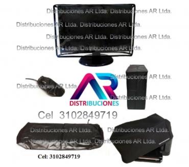 Fotos de Forros Para Computador, Kit: monitor, CPU, teclado, maus e i