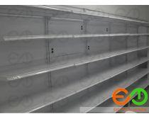 Fotos de entrepaños de gondola metalica para supermercados