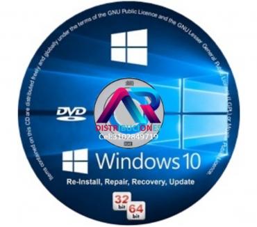 Fotos de DVD Windows 10 de 32 y 64 Bits, envió Gratis.
