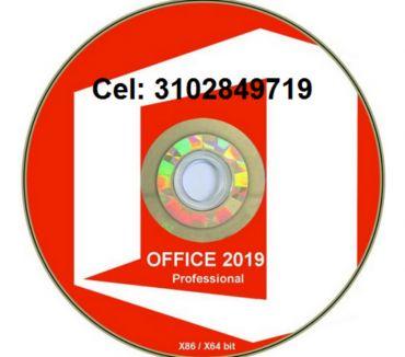 Fotos de DVD Office 2019 profesional de 32 y 64 bits con su activador