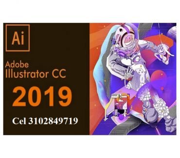 Fotos de DVD o USB de 8 gigas Adobe Illustrator CC 2019, envió gratis