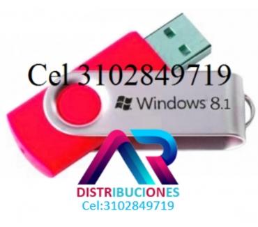 Fotos de USB Windows 8.1 de 32 y 64 Bits, envió Gratis.