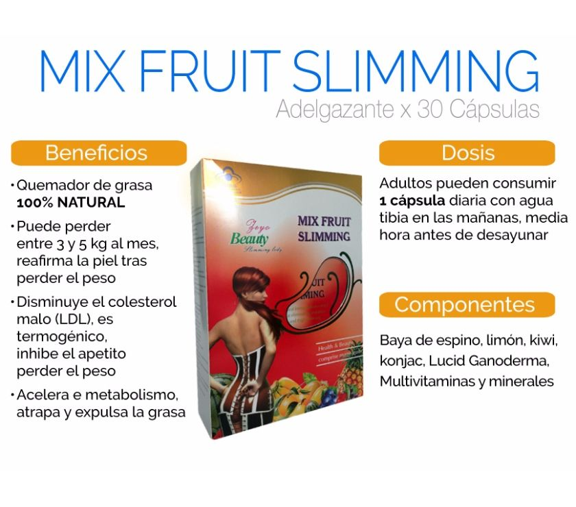 Fotos de RAPIDLY SLIMMING ORIGINALES o mix fruit 35
