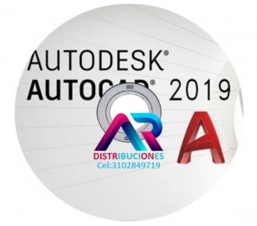Fotos de AutoCAD 2019, envió gratis.