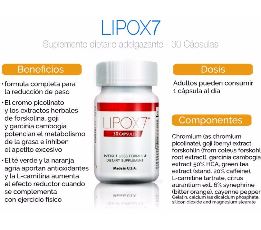 Fotos de nuevo y poderoso lipox7 pierde peso ya $80
