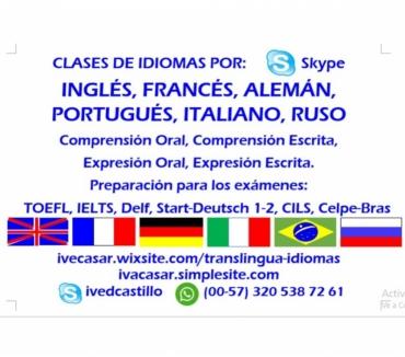 Fotos de Clases de Inglés, Francés, Portugués, Alemán, Italiano y Rus