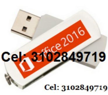 Fotos de USB Office 2016 profesional de 32 y 64 bits, envió gratis.