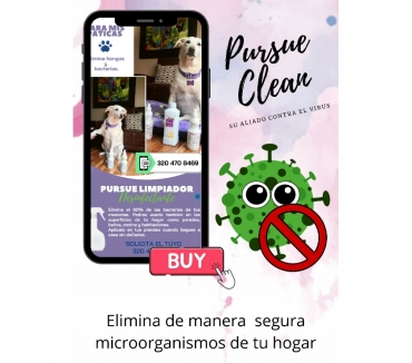 Fotos de DESINFECTANTE PURSUE CLEAN COVID-19