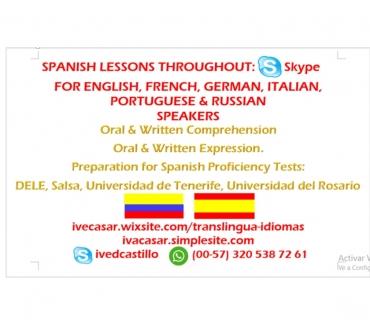 Fotos de Spanish class for foreigners