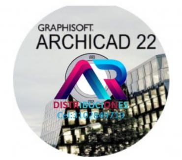 Fotos de Archicad 22, envió gratis.