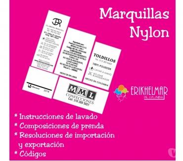 Fotos de Marquillas nylon