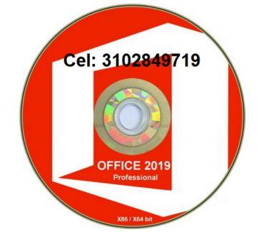 Fotos de DVD Office 2019 profesional, envió gratis.